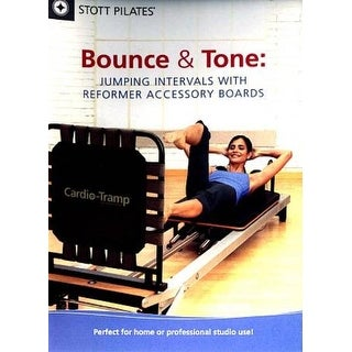 Stott Pilates: Bounce & Tone - Jumping Intervals with Reformer Accessory Boards - DVD
