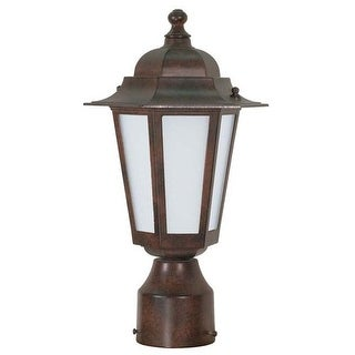 Nuvo Lighting 60/2212 Single Light Up Lighting Outdoor Post Light from the Cornerstone ES Collection