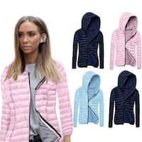 Ultra Lightweight and Soft Winter Hooded Coat
