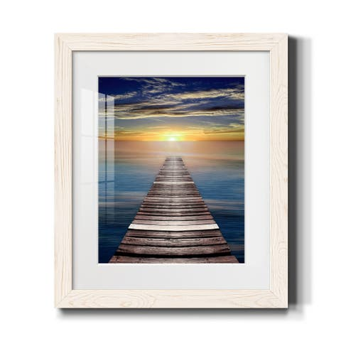 Pretty Pampas II-Premium Framed Print - Ready to Hang
