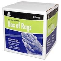 Buffalo Industries 12022 5 Lb Box Of Rags