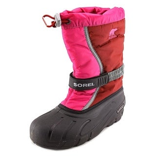 Sorel Flurry TP Youth Round Toe Synthetic Pink Snow Boot