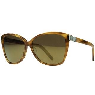 Chloe CE604/S 283 Brown Square Sunglasses - 59-13-135