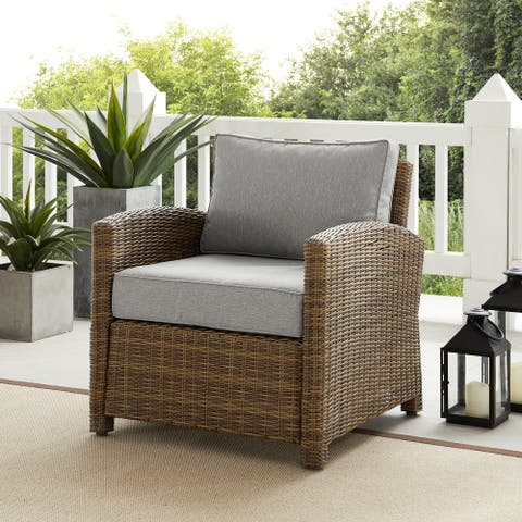 Bradenton Outdoor Wicker Armchair