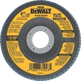 """DeWalt 4-1/2"""" 36 Grit Flap Disc"""