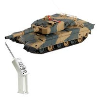 Costway 1:24 Japan Type 90 RC Battle Tank GROUND SELF DEFENSE FORCE Radio Remote Control
