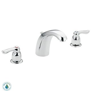 Moen 8922 Double Handle Widespread Bathroom Faucet From The M BITION  Collection (Valve Included