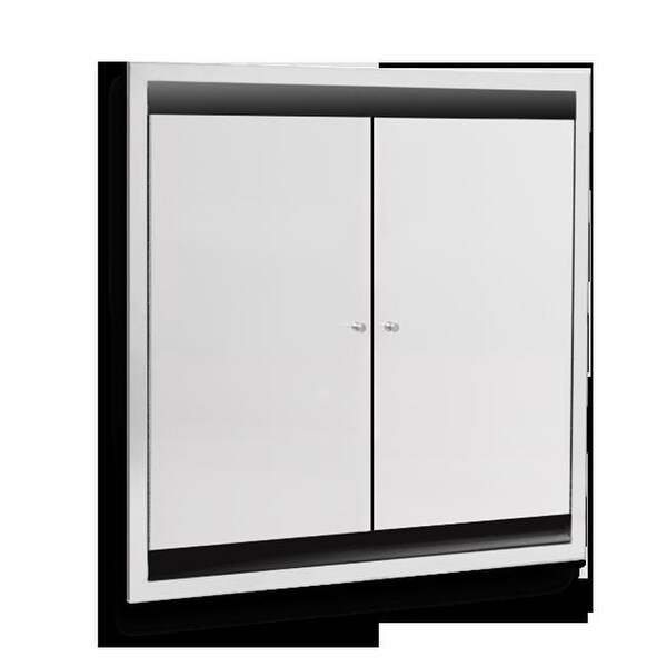 Ajw U952 Sm Dual Bed Pan Cabinet Free Shipping Today Overstock