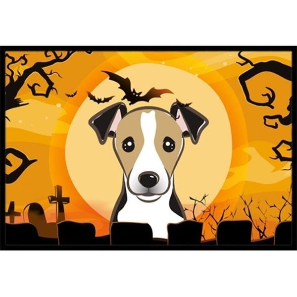 Carolines Treasures BB1819MAT Halloween Jack Russell Terrier Indoor & Outdoor Mat 18 x 27 in.