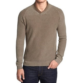 Tommy Bahama NEW Beige Mens Size Large L Relax Shawl V-Neck Sweater
