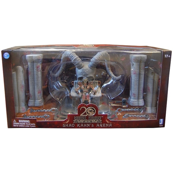 Mortal Kombat Shao Kahn Throne & Arena With Exclusive Shao Kahn Figure