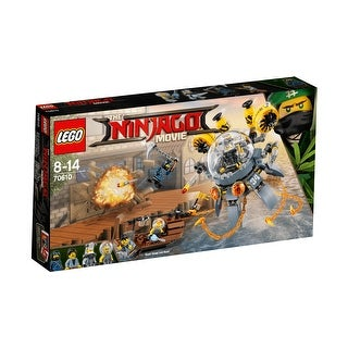 LEGO Ninjago 341-Piece Flying Jelly Sub Construction Set 70610 - Multi