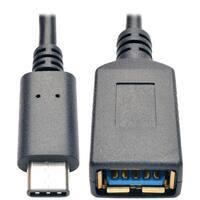 "Tripp Lite U428-06N-F C-Male To A-Female Usb 3.1 Cable, 6"""