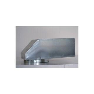 "Vent-A-Hood VP561 6"" x 8.5"" Diameter Vent Elbow for Vent-A-Hood Range Hoods - Galvanized Steel"
