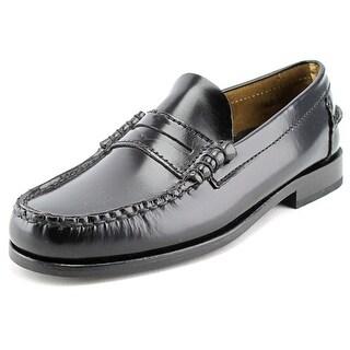 Florsheim Berkley Men B Moc Toe Leather Black Loafer