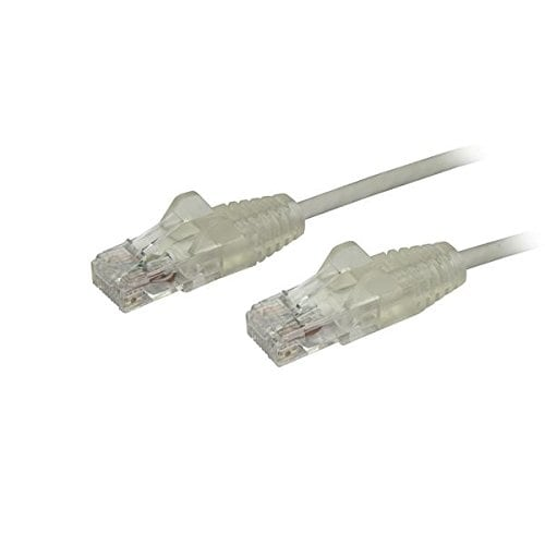 Startech.Com - 6 In Gray Cat6 Ethernet Cable - Slim