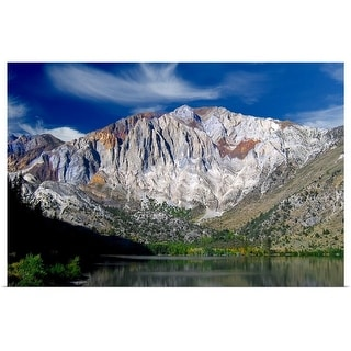 """Convict lake and Laurel mountain, California"" Poster Print"