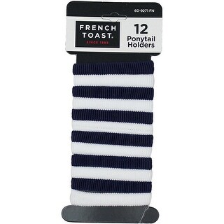 French Toast Girls 12-Piece Ponytail Holders