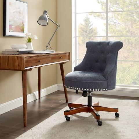 Pamela Tufted Swivel Office Chair