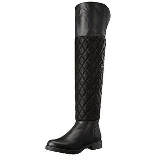 Penny Loves Kenny Womens Dion Riding Boots Faux Leather Fold-Over (More options available)