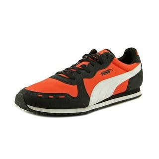 Puma Cabana Racer Fun Round Toe Leather Sneakers