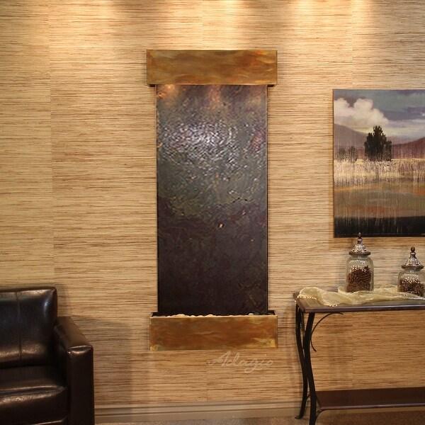 Adagio Inspiration Falls Fountain - Square - Rustic Copper - Choose Options - Multi|Multi