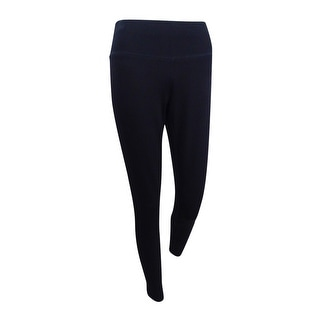 INC International Concepts Women's Pull-On Skinny Pants (0, Deep Black) - Deep Black - 0