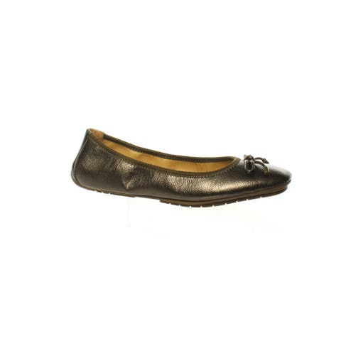 Me Too Womens Halle52.0 Taupe Ballet Flats Size 6 (Wide)