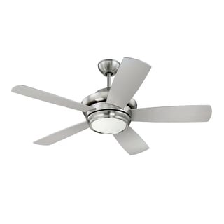 """Craftmade TMP445 Tempo 44"""" 5 Blade AC Motor Indoor Ceiling Fans with Light Kit Included"""