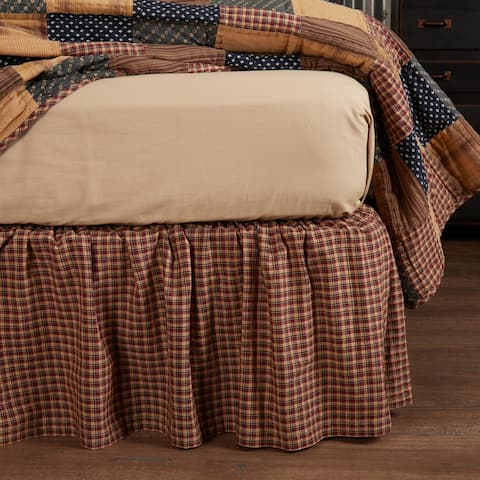 Patriotic Patch Bed Skirt