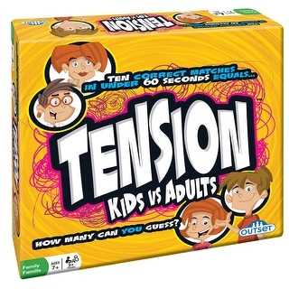 Tension Kids vs. Adults - Family Edition of the Best Selling UK Game - multi