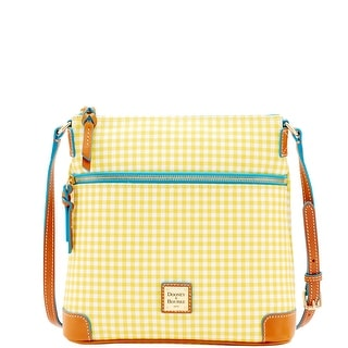 Dooney & Bourke Small Gingham Crossbody (Introduced by Dooney & Bourke at $188 in Jan 2016) - Yellow