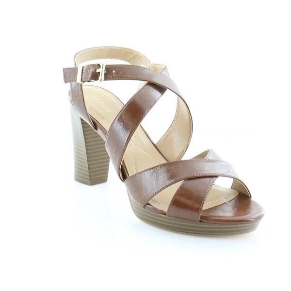 Alfani Palaria Women's Sandals & Flip Flops Cognac