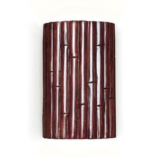 A19 N20301 Bamboo Lighting Sconce from the Nature Collection