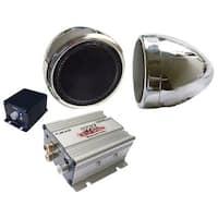 Pyle Motorcyle amplified sound system