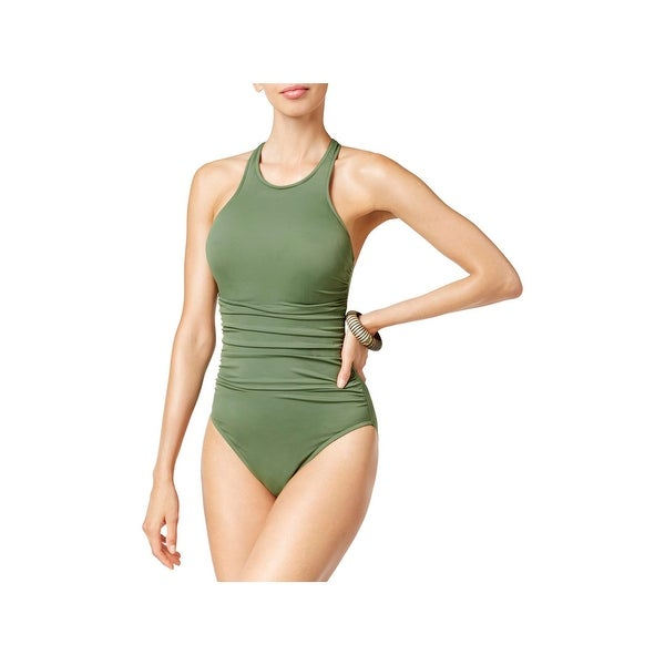 712510459 Shop Magicsuit Womens Ruched Strappy One-Piece Swimsuit - Free ...