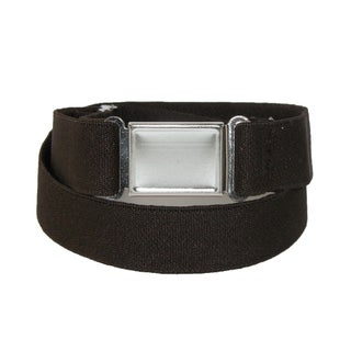 CTM® Plus Size Elastic Belt with Magnetic Buckle (2 options available)