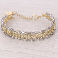 Mad Style Smoky/Gold Kate Bracelet