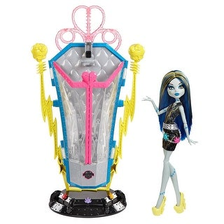 Monster High Freaky Fusion Recharge Chamber Frankie Stein Doll and Playset - Multi-Colored