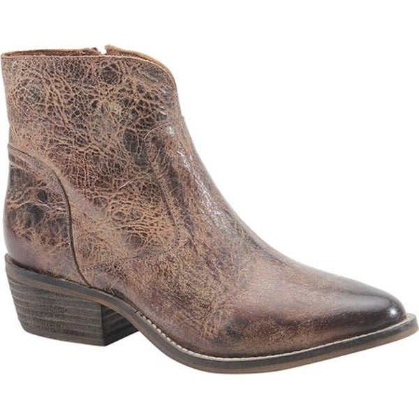 cef7d996221 Shop Diba True Women's Cool Wind Bootie Tan Leather - On Sale - Free  Shipping Today - Overstock - 25595532