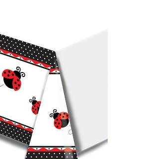 Printed Plastic Tablecover Ladybug Fancy