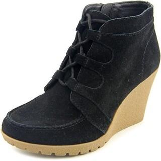 Mia Berdina Women  Round Toe Suede  Ankle Boot