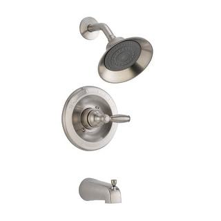 Delta P188775-BN Complete Tub & Shower, Brushed Nickel