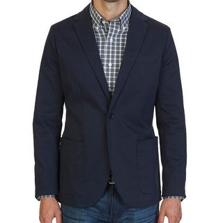 Nautica NEW Blue Navy Mens Size Small S Two Button Modern Jacket