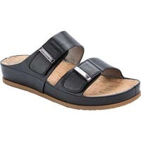 Bare Traps Women's Cherilyn Slide Sandal Black Polyurethane