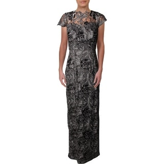 Decode 1.8 Womens Evening Dress Sequined Lace - 6