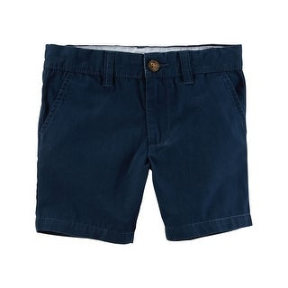 Carter's Baby Boys' Flat-Front Canvas Shorts, 6 Months