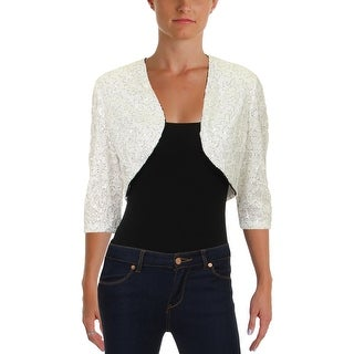 Link to R&M Richards Womens Bolero Lace Sequined Similar Items in Jackets