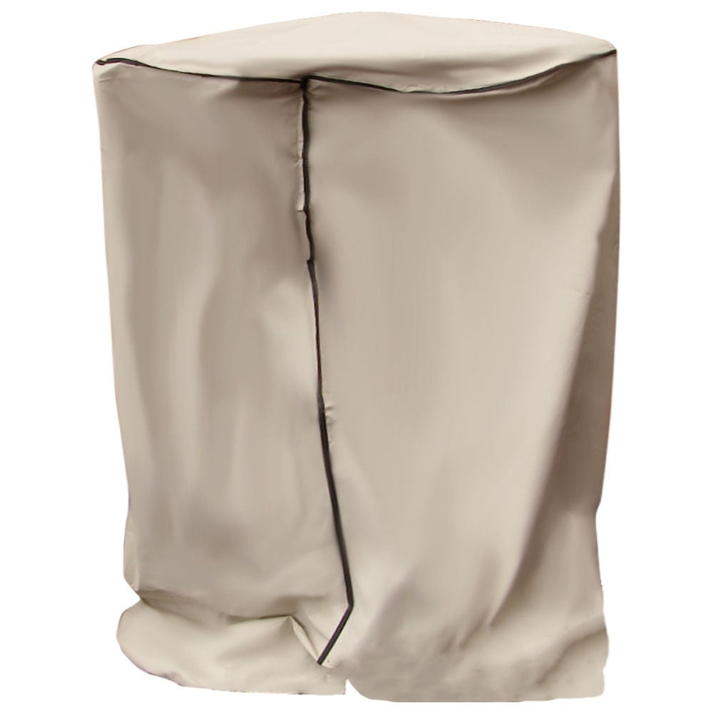 Sunnydaze Beige Outdoor Water Fountain Cover, Size Options Available - Thumbnail 5