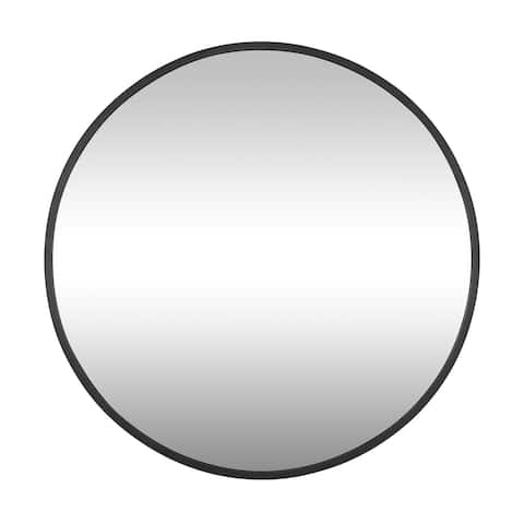 Varaluz Cottage 30-inch Round Mirror